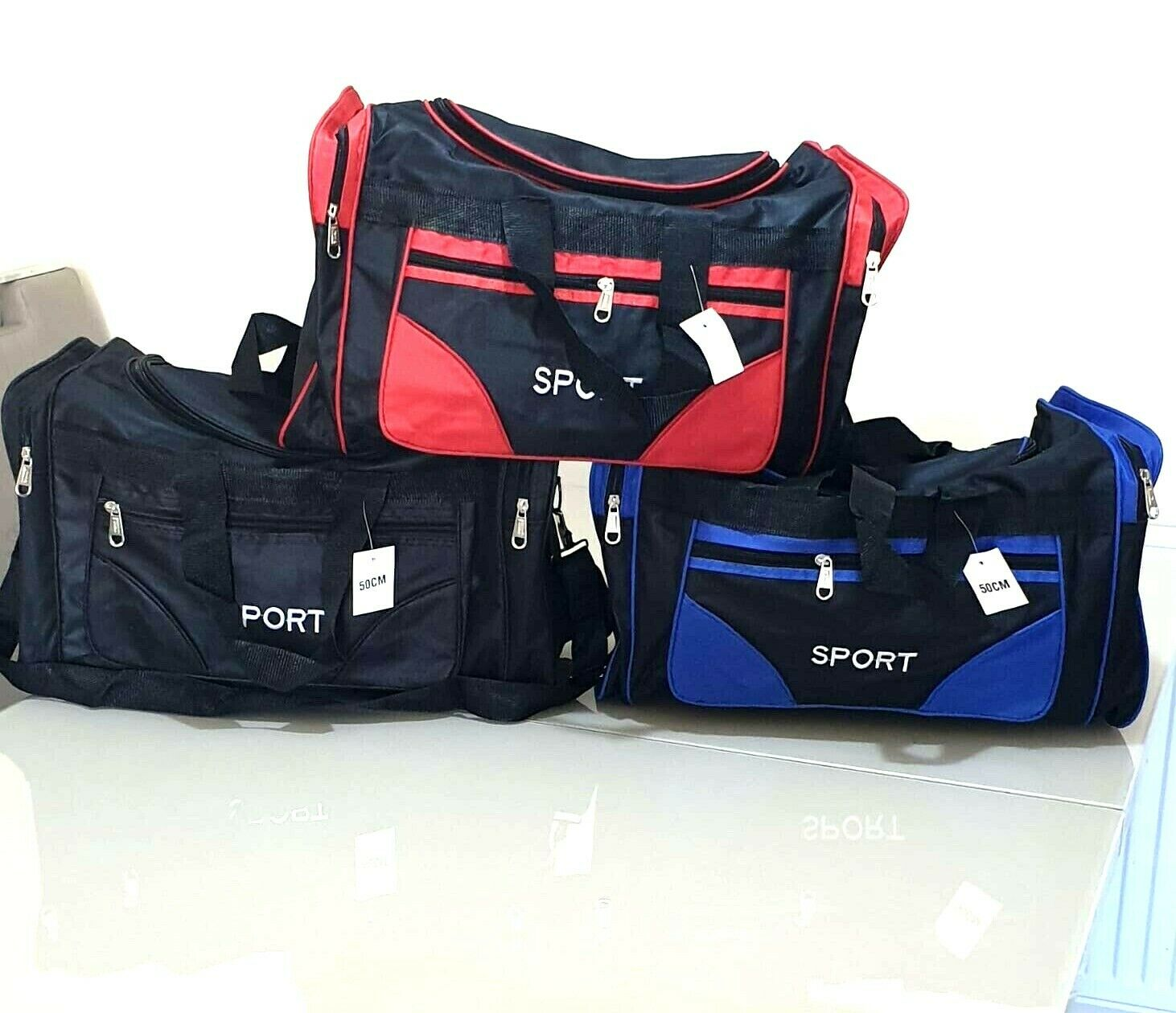 Samsonite Travel Accessories Travelling Bag Duffle Sports Bag 55 Cm Black For Sale Ebay