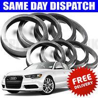 SPIGOT RINGS 57.1 > 66.6 AUDI A4 A5 S5 AMG MERCEDES VW GOLF MK4 T4 ALLOY WHEELS
