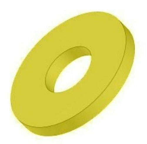 """Pack of 100 1//4/"""" ID SAE High Strength Flat Washers"""