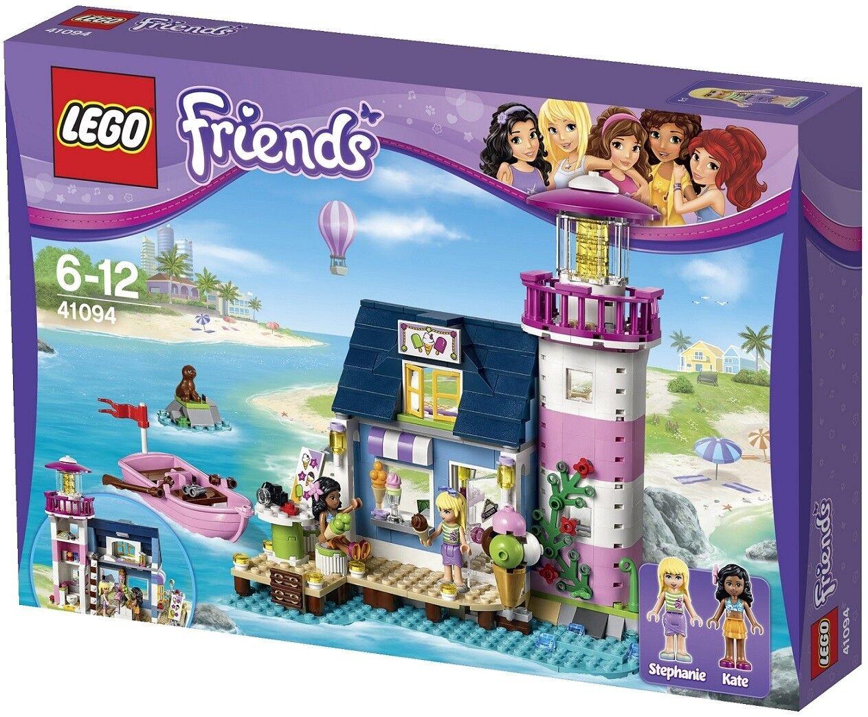 LEGO - FRIENDS - 41094 - LE PHARE  D'HEARTLAKE città - ABIMÉE DAMAGED  Negozio 2018