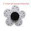 "5/"" 6-Hole Soft Sponge Interface Pad For Hook/&Loop Backing Pad Polishing Sanding"