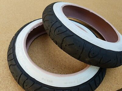2-12x1//2-2 1//4 WHITE WALL FLAME TYPE JUNIOR KIDS BICYCLE TIRES 2 TUBES *COMBO