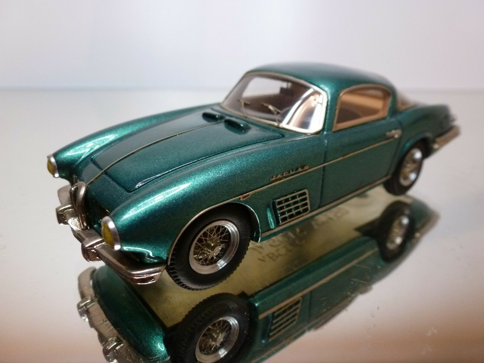 Abc176 jaguar xk150 bertone 1958 - grün   blau metallic 1 43 - vorzüglich - 15.