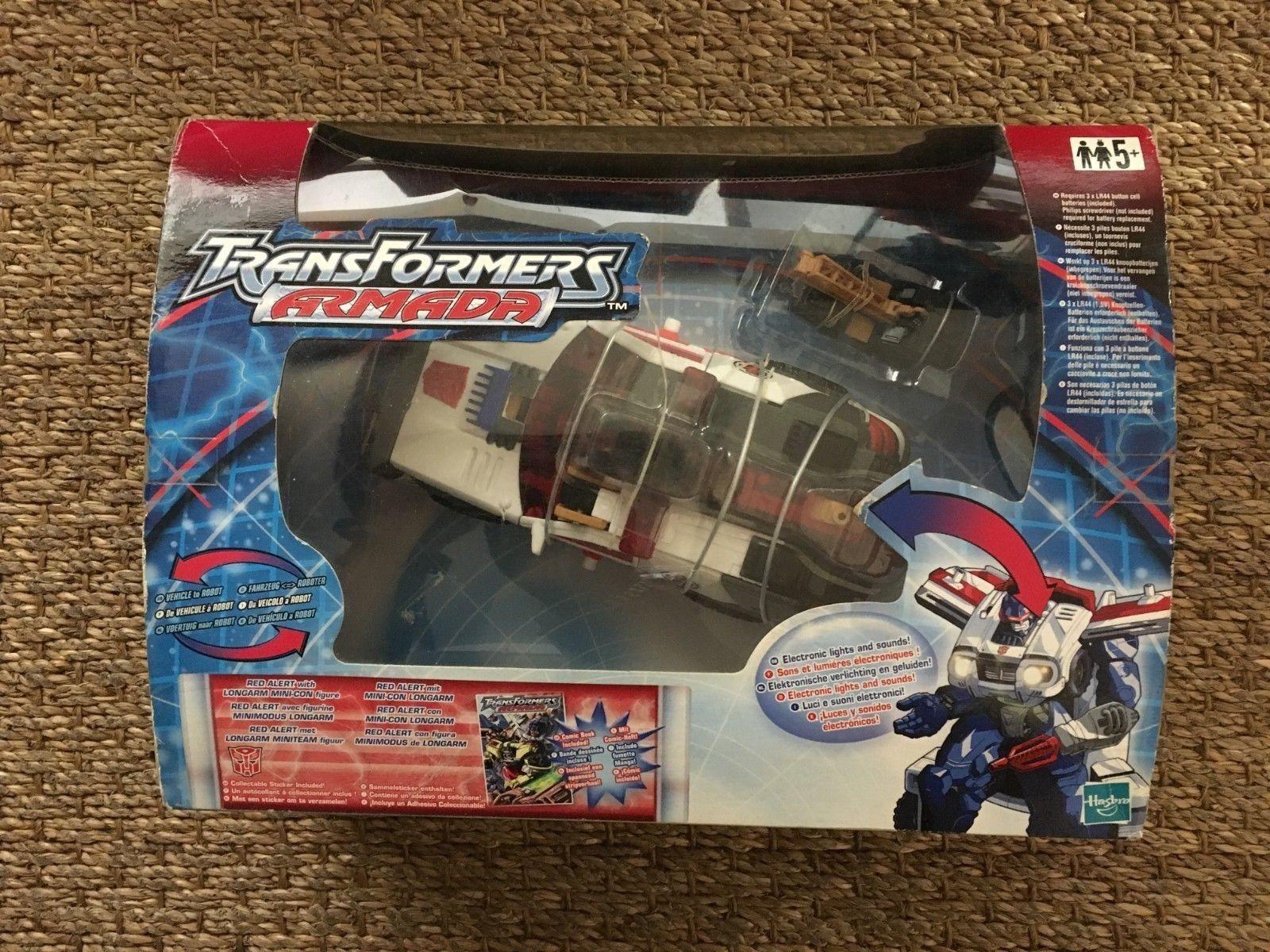 Transformers Armada rosso ALERT Neuf Mint Hasbro