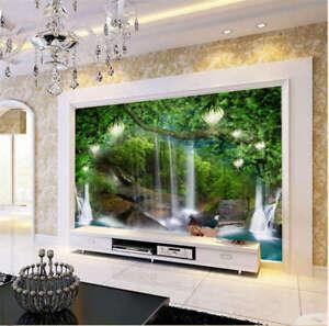 Intense-Clear-Woods-3D-Full-Wall-Mural-Photo-Wallpaper-Printing-Home-Kids-Decor