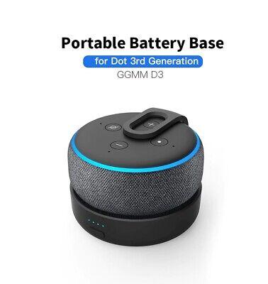 3.Gen. D3 GGMM Ladestation für Amazon Dot Powerbank /& Batterie Akku