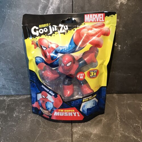 Heroes Of Goo Jit Zu Marvel Superheroes Spiderman Action Figure Toy Kids Gift