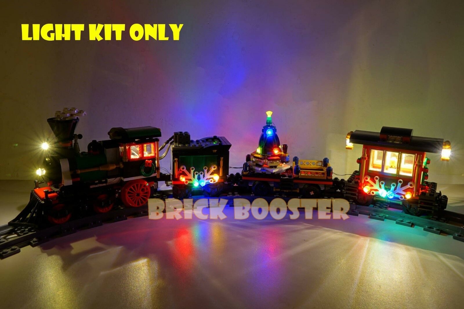 Power Function   Battery LED Light Kit for Lego 10254 Winter Holiday Train
