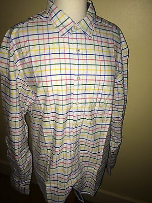 JOULES Wilby Brushed Check Shirt Sz M RP£59.95 FreeUKP/&P