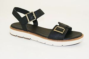 Details zu TIMBERLAND DANFORTH CORK WOMENS ANKLE STRAP HEEL WEDGE SANDALS SHOES RRP £100