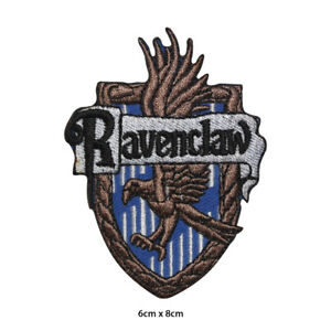 Harry-Potter-Ravenclaw-Embroidered-Patch-Iron-on-Sew-On-Badge-For-Clothes-etc
