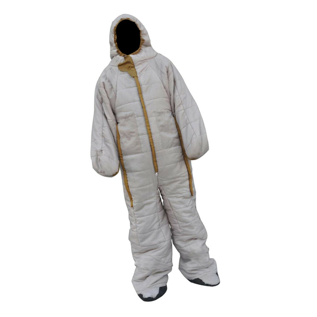 Unisex Full Body Wearable Sleeping Bag Camping Home Office Loungewear Suit