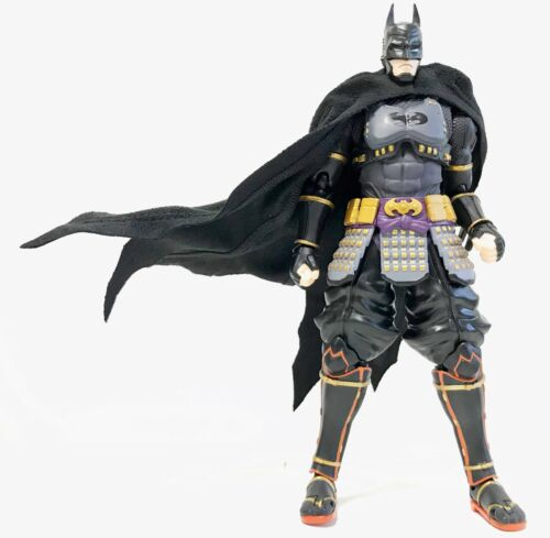 KCBATC 112 scale Black Wired Cape for Bandai SHF Ninja Batman No figure