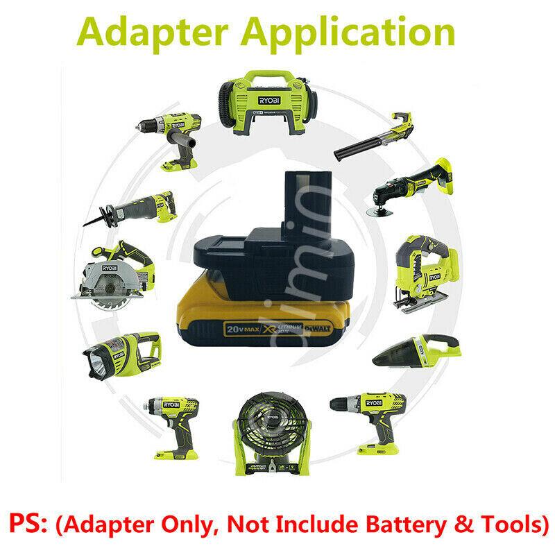 Ryobi 18V Adapter Work 20V Slider Battery