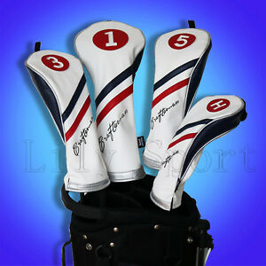 NEW-Golf-Wood-Head-Covers-Rescue-Headcover-Driver-Cover-Fairway-Wood-Headcover