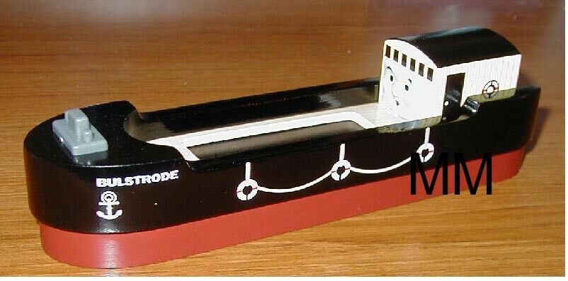 THOMAS THE TANK ENGINE & FRIENDS - WOODEN BULSTRODE THE BARGE 2007 BRAND NEW