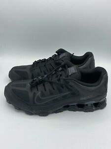 Nike Men Reax 8 TR Mesh Black Anthracite Cross Trainers Gym Shoes 621716-008