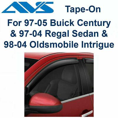 Auto Ventshade 94007 Ventvisor Deflector 4 pc Fits Century Intrigue Regal