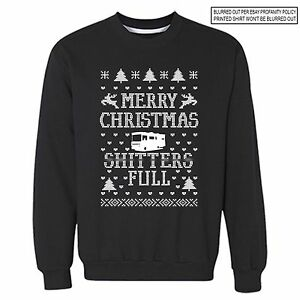 Christmas Vacation Sweaters.Details About Sh Tters Full Ugly Christmas Vacation Sweater Funny Griswold Movie Sweatshirt