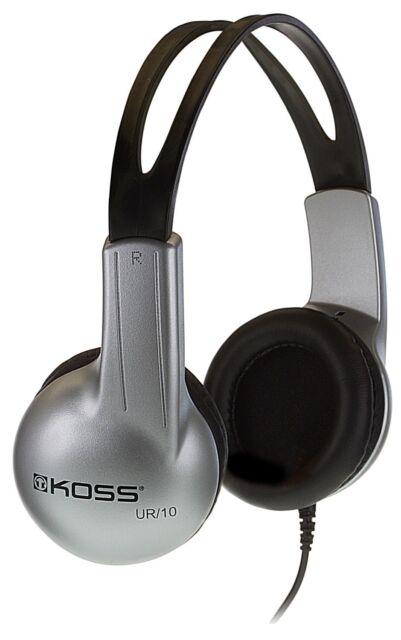 Koss UR-10 Closed-ear Adjustable Stereo Headphones