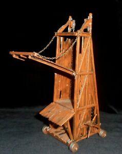ELASTOLIN-HAUSER-4cm-SIEGE-TOWER-Circa-1960-039-s-70-039-s