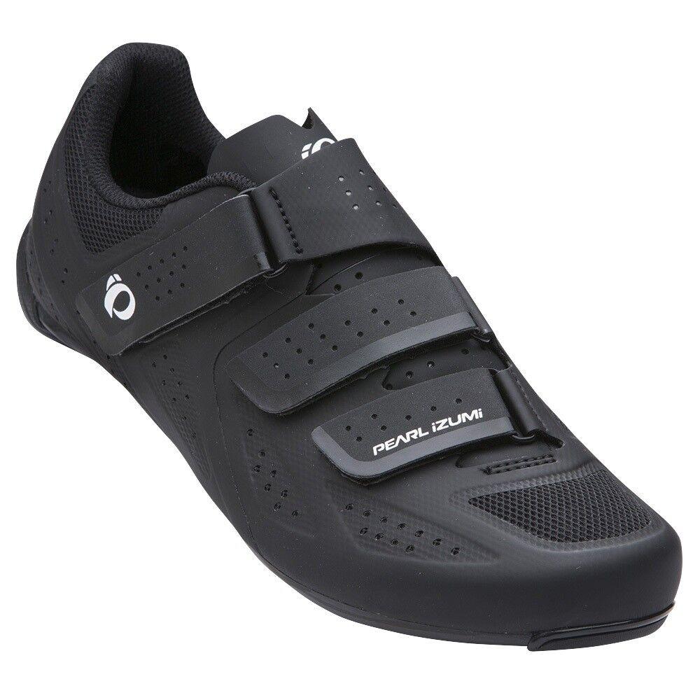Pearl Izumi Select Road v5 Bicicleta Bici Ciclismo Zapatos Negro Negro - 52