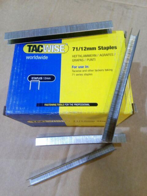 71 SERIES UPHOLSTERY STAPLES BOX OF 20,000 71//8mm FREE POSTAGE UK SELLER