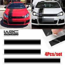 "12X2cm Reflective Car Sticker ""WRC"" Fashion Door Knob Decals 4pcs//pair"