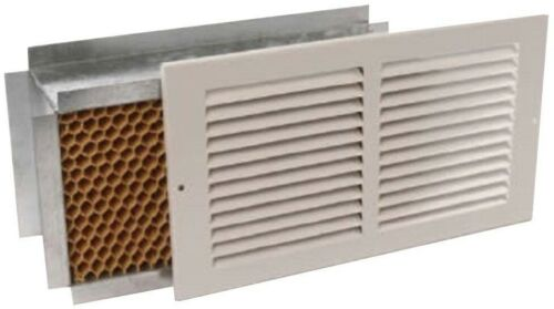 12 in Return Air Pathway Register with Internal Noise and Light Baffle x 6 in