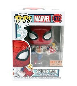 Funko-Marvel-Spider-Man-w-Pizza-672-Boxlunch-Exclusive-POP-PROTECTOR-CASE