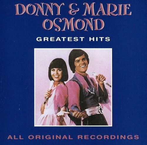 1 of 1 - Donny Osmond, Donny - Best of Donny & Marie Osmond [New CD] Manufa