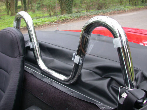 Roll Hoops not included Mazda MX5 Wind Deflector to fit V Style Roll Hoops