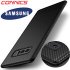 For Samsung Galaxy Note 8 Slim Carbon Fiber Shockproof Soft TPU Case Back Cover