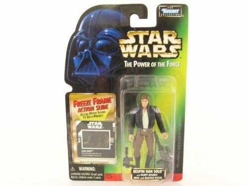 Bespin Han Solo 1997 STAR WARS Power of the Force POTF FF Freeze Frame
