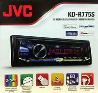 Jvc Kd-r775s Single-din In-dash Stereo W/ Pandora Control & Sirius/xm Ready