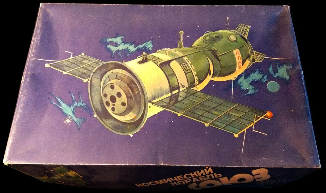 Sojuz   Sojus 1 30 russischer Bausatz, alt und sehr rar