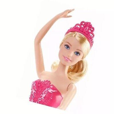 Barbie Fairytale Ballerina with Pink Tutu /& Tiara Doll NEW