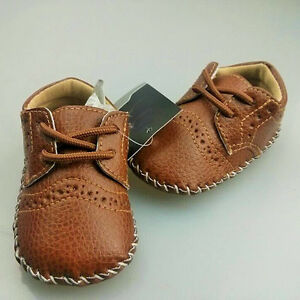 076b80aa39f 0-12M Baby Girls Boy PU Leather Crib Shoes Kids Soft Sole Loafers ...