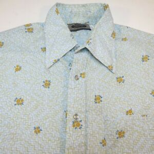 Groovy Vintage Button Up