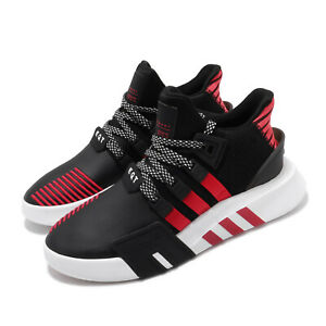 adidas-EQT-Bask-ADV-Black-Red-Mens-Running-Shoes-Lifestyle-Sneakers-FW4249