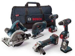 Bosch-0615990H93-18V-3x5-0Ah-Li-ion-6PC-Cordless-Tool-Kit
