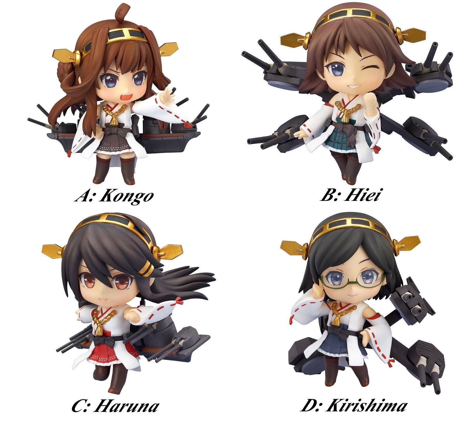 Nendoroid KanColle Kongo Hiei Haruna Kirishima Battleship action figure