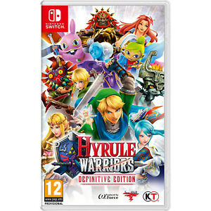 Nintendo Switch - Hyrule Warriors: Definitive Edition - Nintendo Switch