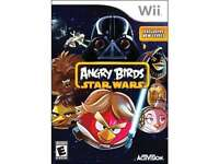 Angry Birds Star Wars Wii Game on sale
