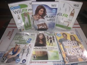 Wii Fit: Jillian Michaels, Biggest Loser, Fitness Lot (Nintendo Wii, 2007-2009)