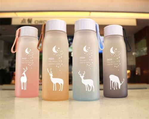 Bottle Plastic Water Leak Proof for Travel Bicycle Portable Drinking Sport 560ml