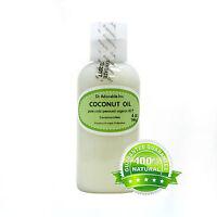 Organic Coconut Oil 92 Degree Pure Cold Pressed 2 Oz -up To Gallon
