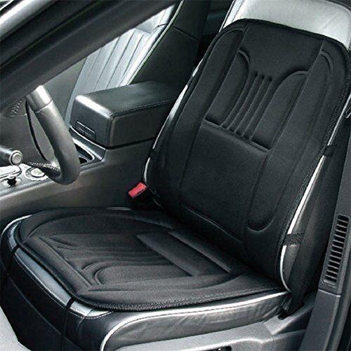 Beheizbare cobertor de asiento para negro asiento calefactado almohadilla con 2 niveles de calor regulables 45w 12v