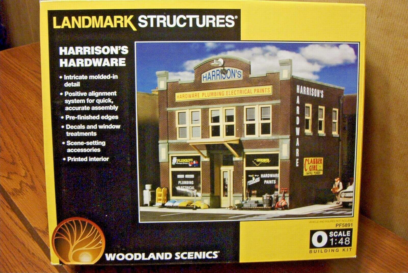 Woodland Scenics Landmark estructura Harrison's Hardware O Escala Kit De Construcción