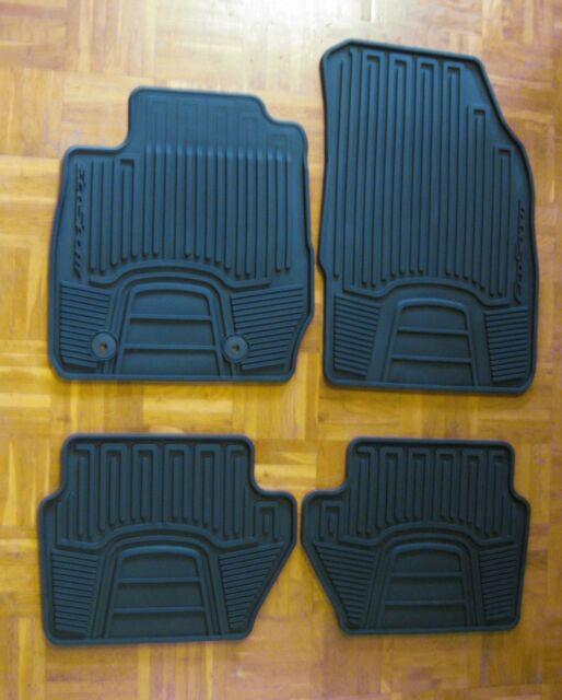 ORIGINAL Ford Gummimatten Fußmatten Automatten Satz EcoSport ab 10.2013 4-tlg